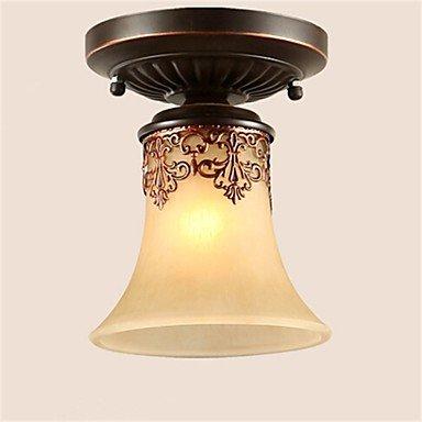 JJ Moderne LED-Deckenleuchten YL Kronleuchter Pendelleuchten LED Vintage Deckenlampen klassische rustikale Lodge Vintage Retro Laterne Wohnzimmer Schlafzimmer Esszimmer , warm Weiß-(220V-240V) -