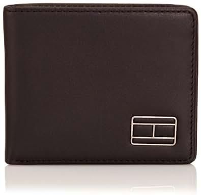 Tommy Hilfiger Mens Jaxon CC and Coin Pocket Wallet BM56922119 Black