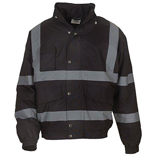 mens-hi-vis-classic-bomber-jacket-hvp211-yoko-inside-patch-pocket-large-black