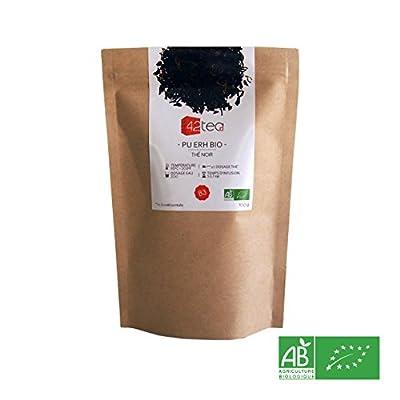 42tea - Thé noir Pu Erh Bio 100 g
