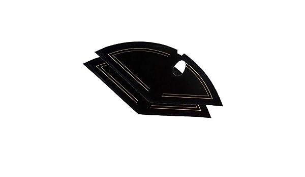 Unbekannt Inconnu Prot/ège-Manteau en Plastique Noir 18-29