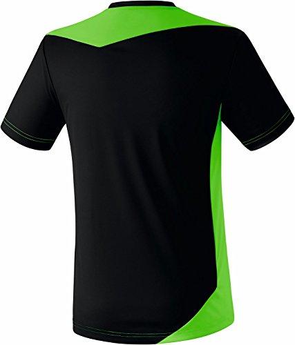 Erima–Maglietta bambino Glasgow nero/verde