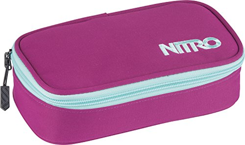 Nitro - Pencil Case XL - Bleu (Blur Brilliant Blue) - 21 x 10 x 7 cm, 1.36 L
