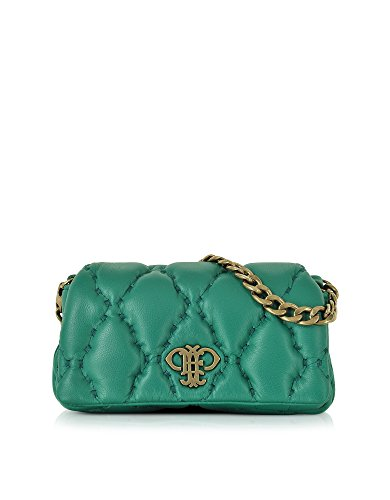 emilio-pucci-womens-66bd2066002h24-green-leather-shoulder-bag