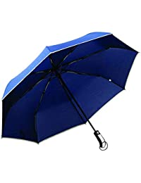 Officeforce Umbrella with Japanese Brand Automatic Open & Close Button with Long Size Handle & Cover Cap. Sun & Rain Umbrella. Useful for Men.