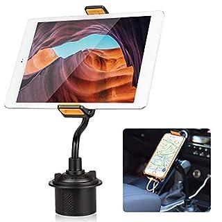 EEEKit Halter für das Telefon, Auto-Schwanenhals, Halter für EIN Tablet-Tablett für iPad Pro Air Mini, Samsung Galaxy Tab, Fire HD, alle Smartphones und 7
