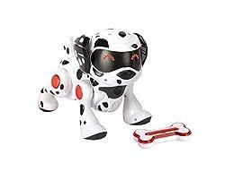 Splash Toys 30637 - Teksta Roboter Hund, Dalmatiner