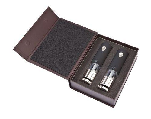 peugeot-2-28459-ensemble-moulins-electriques-sel-et-poivre-20cm-noir-inox-lenix