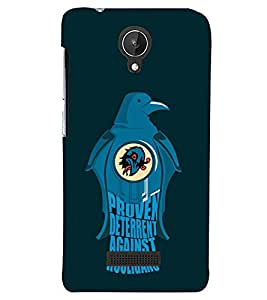 printtech Birds Back Case Cover for Micromax Canvas Spark Q380