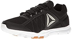 Reebok Men s Yourflex Train 9. 0 MT Running Shoe Black//White/Gum/Pewter 10 D(M) US