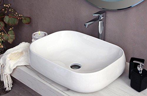 Lavello rotondo anello di troppopieno /Ricambi copertura Tidy Chrome Trim cucina bagno lavabo in ceramica Woopower tappo di scarico di inserto in hole ricambi/