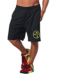 Zumba Fitness Short Homme Back to Black FR : M (Taille Fabricant : M)