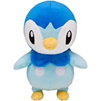 Pokemon Center Original Plush Toy Piplup Tiplouf Plinfa 22cm Peluche
