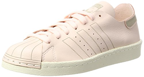 adidas Damen Superstar 80s Decon Sneaker, Ice Pink/Off White, 38 EU - Adidas Superstar 2 Freizeitschuh
