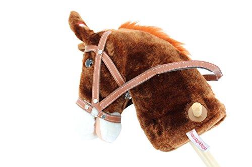 Sweety Toys 5079 Steckenpferd PRINCETON mit Funktion Galopp