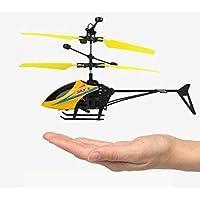 Kanchan Enterprises Plastic Hand Sensor Helicopter, Pack Of 1, Yellow