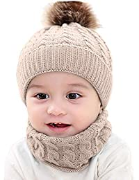 Girl's Hats Kids Cashmere Hat Child Beanie Hip Hop Cute Cashmere Wool Cotton Hats Ski Beanie Winter Cap Skull Boys And Girls Factory Direct Selling Price