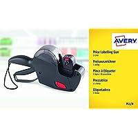 Avery Pince à Etiqueter + 1 Rouleau Encreur + 1 Rouleau d'Etiquettes - 1 ligne/8 caractères - Noir (PL1/8)