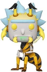 Funko- Pop Animation: Rick & Moty-Wasp Rick Collectible Figure, Multicolor (44255)