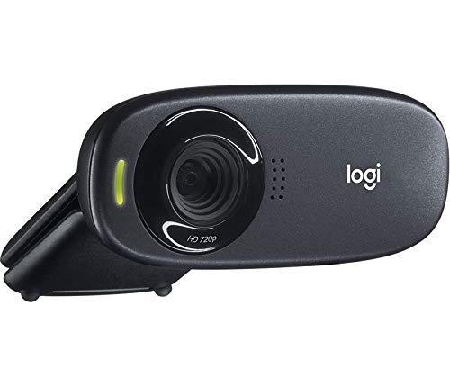 Logitech C310 Hd Webcam For Widescreen Video Calling & Recording In 720p With Noise-reducing Mic - Black