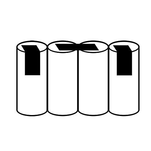 Akku Batterie Gardena Akku75 Accu 75 Gartenschere 4,8V 3,0Ah mit Lötfahne kompatibel