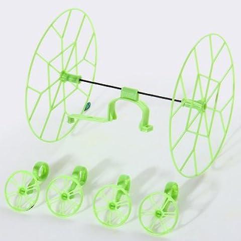 WayIn® Cheerson CX - 10 / CX - 10A Protección Repuesto Anillo Set: 2 + 4 Rueda grande Rueda Pequeño - Verde