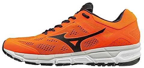 Mizuno Synchro Mx 2, Chaussures de Running Entrainement Homme, Orange (Clownfish/Black/Vapor Blue), 45 EU