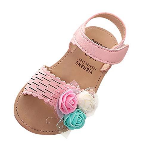 endes Weben Schuhe Mesh Atmungsaktiv Sportschuhe Freizeit Krabbelschuhe,Sommer-Kind-Kind-Kind-Baby-reizende Nette Blumen-Prinzessin Sandals Shoes ()