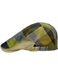 Herren Damen Flat Cap Golfmütze Schiebermütze Schirmmütze Newsboy Hut in 6 Farben