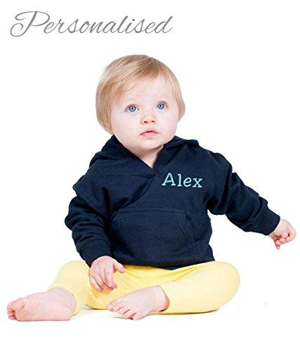 Harlequin Designs Baby Jungen (0-24 Monate) Kapuzenpullover navy 2-3 ys