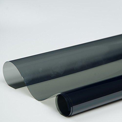 HOHO Auto Glas Tönung 100% UV Proof 35% Schatten Farbe Tönungsfolie für Seite Rückseite Fenster 152,4cm x98ft Rolle (Auto Tönung 60)
