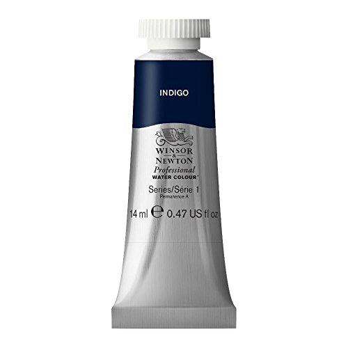 Winsor & Newton - Tubetto di Pittura ad Acquerello Professionale, 14 ml, Colore: Indaco