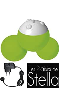 Boules Vibrantes Rechargeable Yooo Vert + Chargeur Inclus - Fun Factory Sex Toy