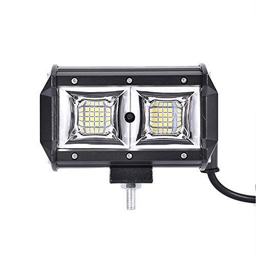 WZTO LED Arbeitsscheinwerfer 5 Inch 96W Cree LED Zusatzscheinwerfer 10000LM Auto Scheinwerfer Offroad Flutlicht Wasserdicht IP68 Arbeitslicht 12V 24V