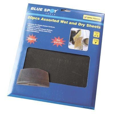 blue-spot-tools-19854-macchia-blu-carta-vetrata-umida-e-secca-20-pezzi