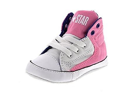 Converse - Crib - 856128c- First Star - Pink Glow (UK1)