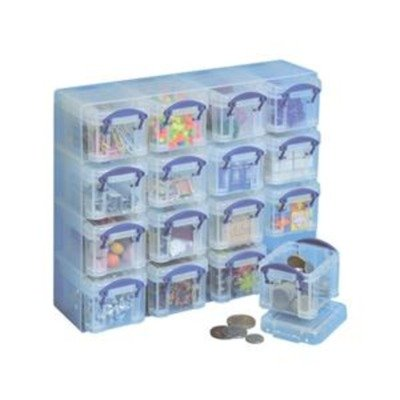 101732 - 16 x 0,14 Litre Aufbewahrungsbox Organizer Dose (Really Useful Box 16)