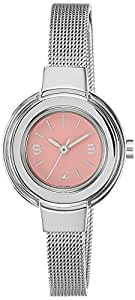 Fastrack Analog Pink Dial Women's Watch - 6113SM03