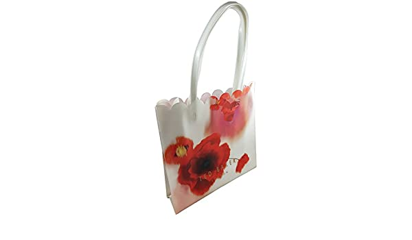 df107e236e668 Ted Baker Charcon Playful Poppy Mid Red Large Shopper Bag  Amazon.co.uk   Shoes   Bags