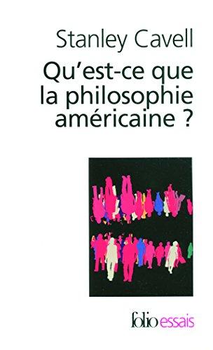 Qu'est-ce que la philosophie amricaine?: De Wittgenstein  Emerson