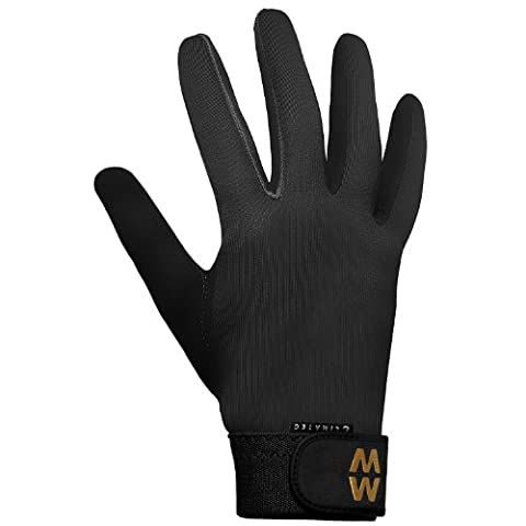 MacWet Climatec Long Cuff Gloves 8.5 Inch Palm Circumference Black