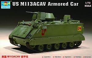 Trumpeter 7237 - Maqueta de vehículo blindado Estadounidense M 113 ACAV Importado de Alemania