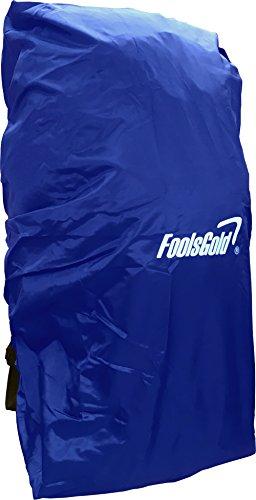 FoolsGold copertura impermeabile per escursionismo zaini (50L - 120L) - Arancione Blu