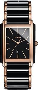 Rado Men's Quartz Watch with Black Dial Analogue Display Quartz Ceramic 212.0962.3.015