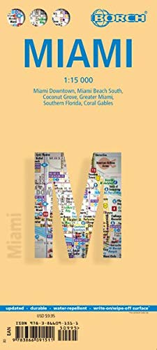 Miami 1 : 15 000 (Borch Map)