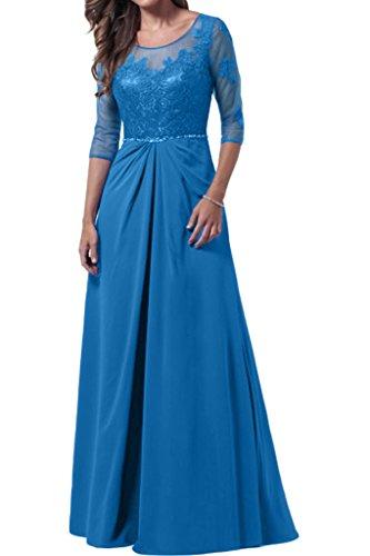 Promgirl House - Robe - Trapèze - Femme Bleu