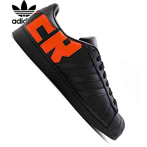 Adidas Men Sport & Style Shoes Superstar * Noir/Black / Noiesse/Orange *