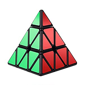 Vdealen Cubo mágico Puzzle Pack – Pyramid Cube,Megaminx,Silver Mirror 3x3x3