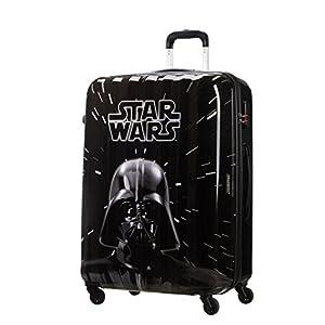 American Tourister Star Wars Legends – Spinner L Maleta, 75 cm, 88 L, Negro (Star Wars Neon)