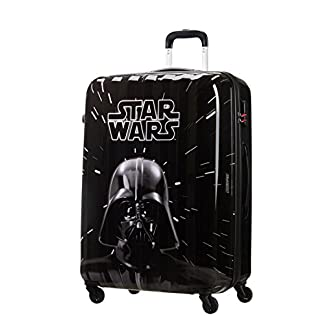 American tourister – Disney Star Wars Legends – Maleta Spinner 75/28 Joytwist, 75 cm, 88 L, 4.3 KG Multicolour (Star Wars Neon)